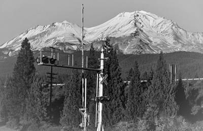 Mt Shasta Photograph - Mt Shasta Crossing by Marnie Patchett