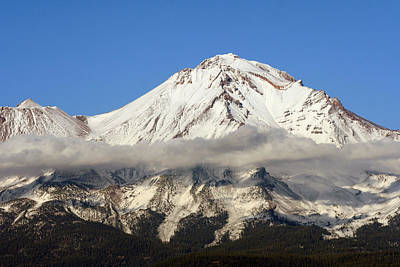 Mt. Shasta Summit Art Print by Holly Ethan