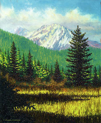 Painting - Mt. Shasta View by Douglas Castleman