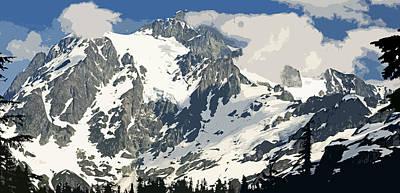 Mt. Shucksan Art Print by Larry Darnell