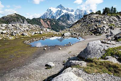 Photograph - Mt Shuksan Reflected by Tom Cochran