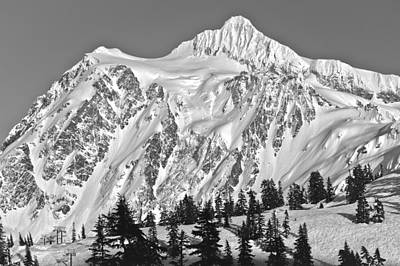 Photograph - Mt Shuksan by Tony Locke