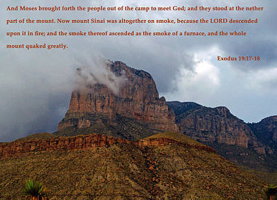 Photograph - Mt. Sinai by Tikvah's Hope