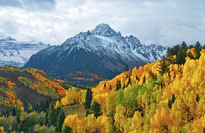 Photograph - Mt. Sneffels Colorado by John Hoffman