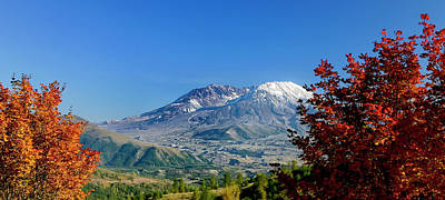 Photograph - Mt St Helens by Albert Seger