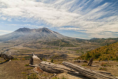 Photograph - Mt St Helens by Brian Harig