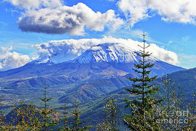 Photograph - Mt. St. Helens Fall by Ansel Price