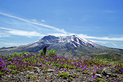 Photograph - Mt St Helens, Topless by Craig Strand