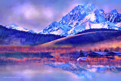 Mt. Stuart Art Print by Kari Nanstad