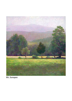 Pastel - Mt. Sunapee by Betsy Derrick