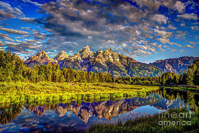 Photograph - Mt. Teton And Schwabacher Landing by Jean Hutchison