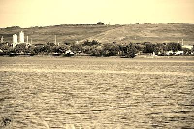 Photograph - Mt Trashmore In Sepia by Rob Hans