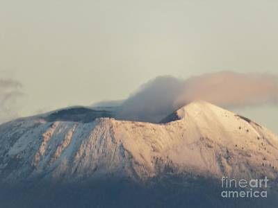 Photograph - Mt. Vesuvius In Winter by Laurie Morgan