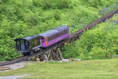 Photograph - Mt Washington Cog Railway Algonquin by Brian MacLean