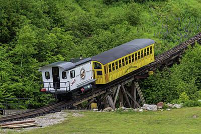 Photograph - Mt Washington Cog Railway Metallak by Brian MacLean