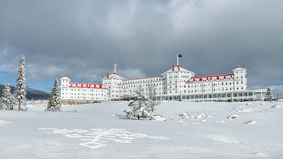 Mount Washington Photograph - Mt. Washington Hotel by Joseph Smith