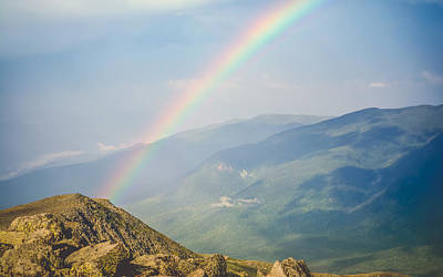 Abstract Animalia - Mt. Washington - Ranbow Heaven by Black Brook Photography