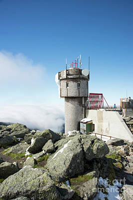 Photograph - Mt Washington Weather Station by Alana Ranney