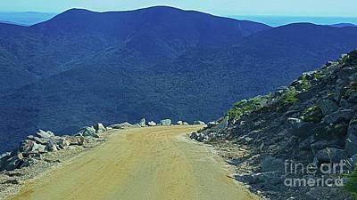 Photograph - Mt. Washsington Auto Road by Patti Whitten