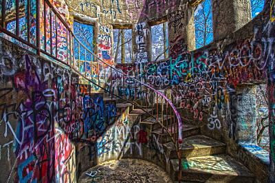 Photograph - Mt Wood Graffiti by Daniel Houghton