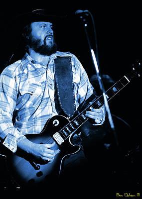 Photograph - Mtbspo79 #2 Enhanced In Blue by Ben Upham