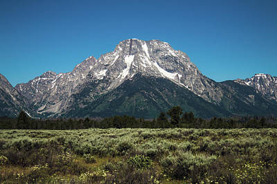Teton Wall Art - Photograph - Mt.moran by Hyuntae Kim