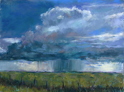 Pastel - Much Needed Rain by Billie Colson