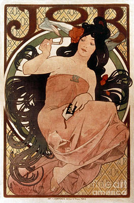 Photograph - Mucha: Cigarette Paper Ad by Granger