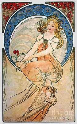 Photograph - Mucha: Poster, 1898 by Granger