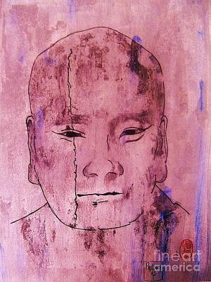 Art Print featuring the painting Muchaku Of Kamakura by Roberto Prusso