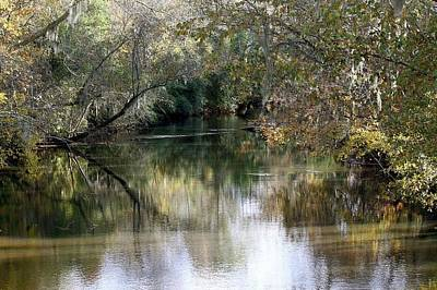 Photograph - Muckalee Creek by Jerry Battle