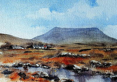 Painting - Muckish, Donegal by Val Byrne
