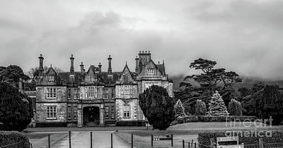 Photograph - Muckross House In Bw   by Imagery by Charly