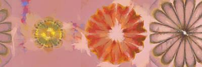 Slate Pattern Painting - Muckworm Consistency Flower  Id 16165-001919-81620 by S Lurk