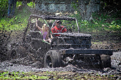Photograph - Mud Bogging by Mary Lee Dereske