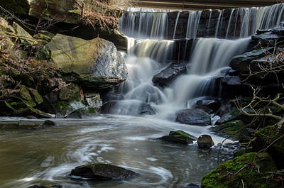 Photograph - Mud Brook Waterfall by Ann Bridges