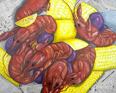 Mud Bugs Art Print by JoAnn Wheeler