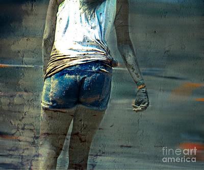 Running Digital Art - Mud Cakes  by Steven  Digman