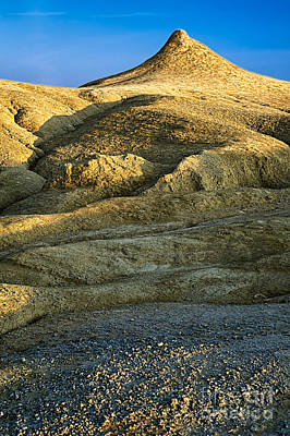 Mountain Landscape Rights Managed Images - Mud cone Royalty-Free Image by Susanna Patras
