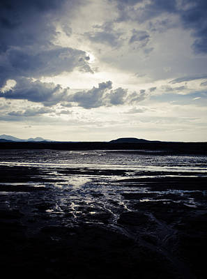 Photograph - Mud Flat And Clouds by Scott Sawyer