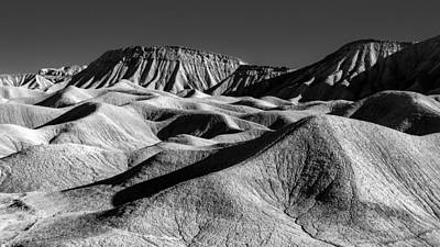 Anza Borrego Desert Photograph - Mud Hills And Elephant Knees by Joseph Smith