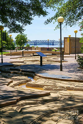 Photograph - Mud Island Park by Jennifer White