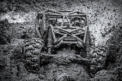 Photograph - Mud Racing by Daniel Hagerman