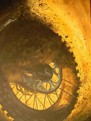 Gold Chain Painting - Mud Slinger                   by Michaela Gonzalez