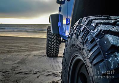 Nitti Photograph - Mud Terrains by Richard Booth