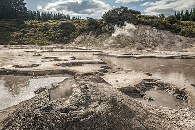 Photograph - Mud Volcano by Racheal Christian