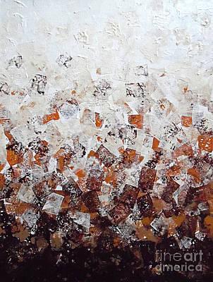 Mental Painting - Muddy Bricks by Jilian Cramb - AMothersFineArt