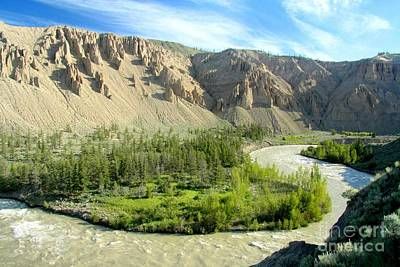 Photograph - Muddy Chilcotin by Frank Townsley