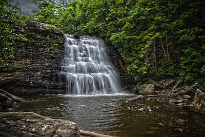 Muddy Creek Falls Art Print