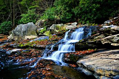 Photograph - Muddy Creek Falls Tailwaters by Matthew Winn